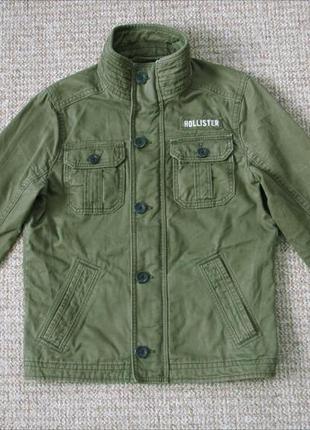Hollister куртка оригинал (s) сост.идеал