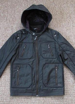 Guess waxed вощеная куртка утепленная оригинал (s)
