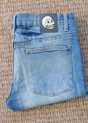 Cheap monday narrow heavy bleached джинсы skinny оригинал (w33...