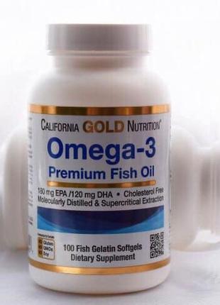 Омега - 3 преміум класу від американського бренду california g...