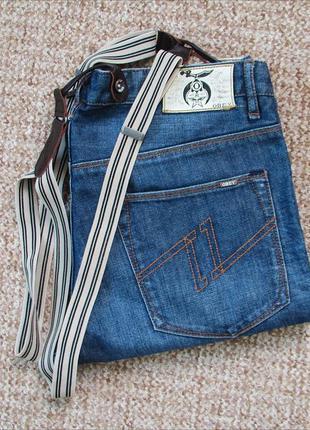 Obey джинсы с подтяжками оригинал (w33)