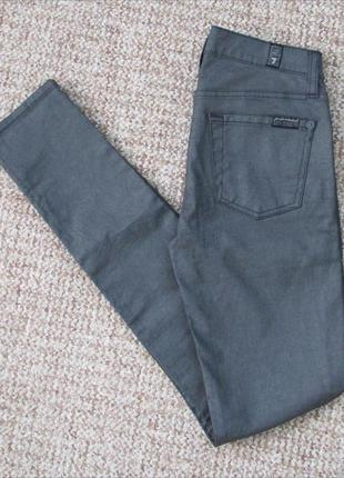 7 for all mankind джинсы skinny made in italy оригинал (w25)