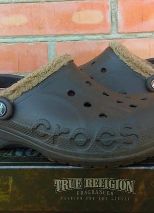 Crocs кроксы с мехом оригинал (38-39)