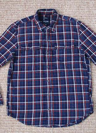 True religion тканая рубашка оригинал (m) сост.идеал