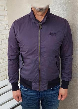 Superdry куртка бомбер оригинал (m)
