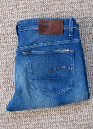 G-star raw 3301 loose джинсы оригинал (w35 l36) сост.идеал