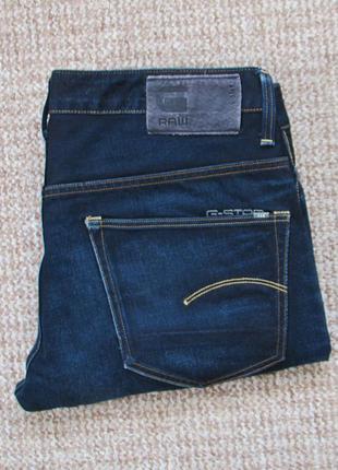 G-star raw 3301 straight джинсы оригинал (w36 l32)