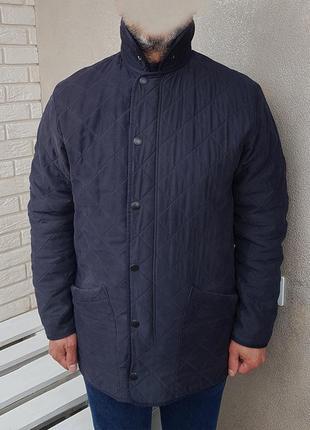 Barbour куртка стеганка на флисе оригинал (m-l)