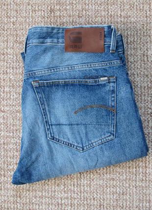 G-star raw 3301 loose джинсы оригинал (w35 l36)