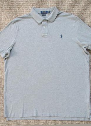 Ralph lauren поло футболка оригинал (xl) сост.идеал