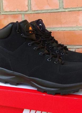 Nike manoa ботинки кроссовки кожа нубук оригинал (42.5 - 27.5 ...