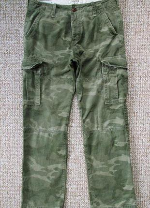 Hollister штаны хаки оригинал (w31 l30) сост.идеал