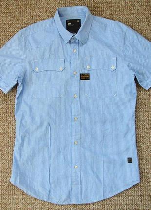 G-star raw рубашка оригинал (м) сост.идеал