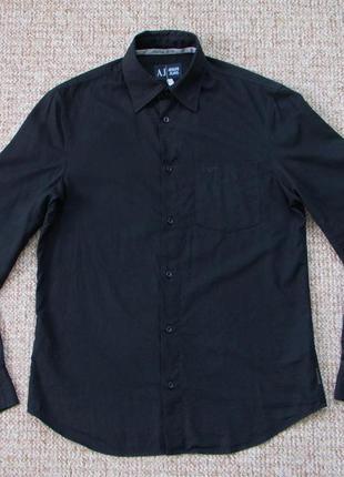 Armani jeans рубашка +модал оригинал (m-l) сост.идеал