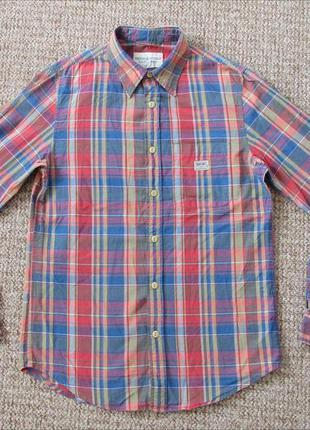Ralph lauren denim & supply тканая рубашка оригинал (s) сост.и...