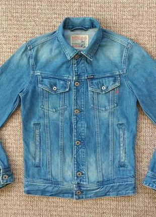 Replay куртка джинсовая оригинал (s) сост.идеал