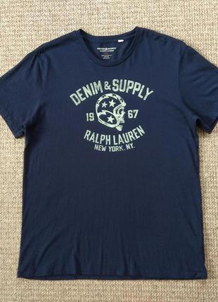 Ralph lauren denim & supply футболка оригинал (xl)