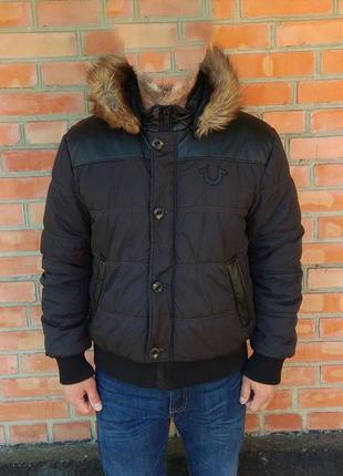 True religion puffer jacket пуховик куртка утепленная оригинал...