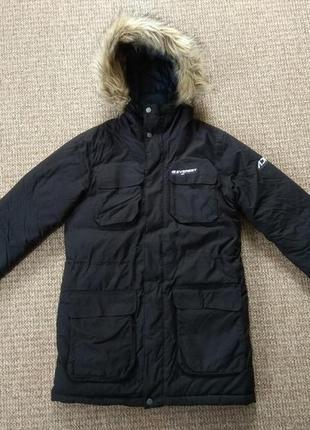 Everest женский пуховик парка куртка оригинал (s)