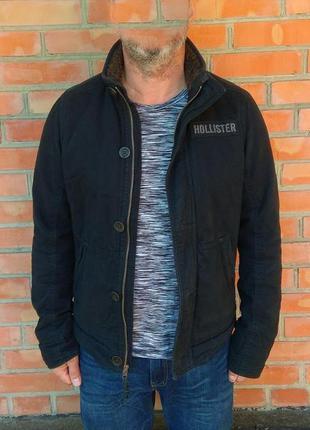 Hollister куртка на меху оригинал (s)