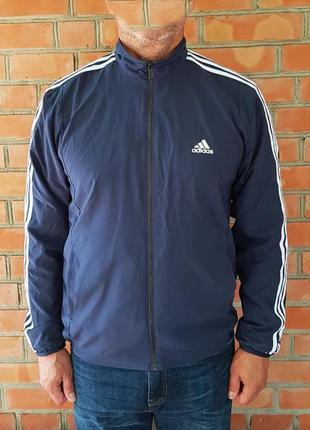 Adidas куртка ветровка оригинал (m-l)