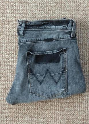 Wrangler 4rrb regular fit black used джинсы оригинал (w33 l34)