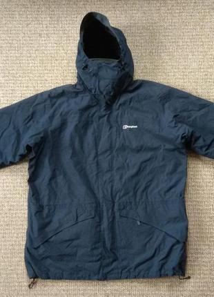 Berghaus gore-tex 3 in 1 куртка штормовка с флисовым подкладом...