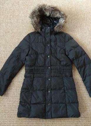 Tommy hilfiger женский пуховик куртка оригинал (l)