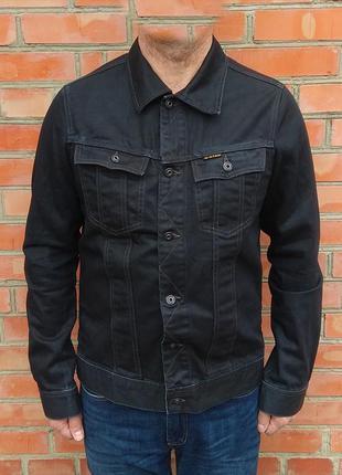 G-star raw джинсовая куртка джинсовка оригинал (l-xl)