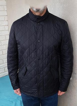 Barbour chelsea sports quilt jacket стеганка куртка оригинал (m)