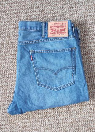 Levi's 511 джинсы slim fit оригинал (w38 l34)