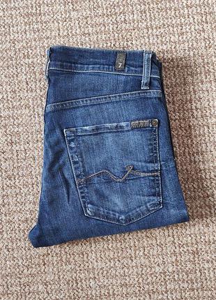 7 for all mankind slimmy джинсы оригинал (w31)