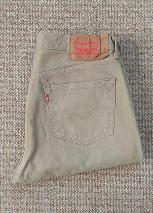 Levi's 501 джинсы оригинал (w36 l34)