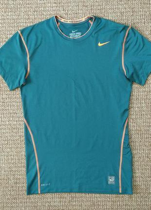 Nike pro combat компрессионная футболка рашгард оригинал (xxl)