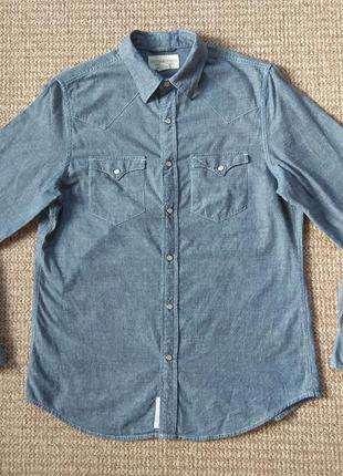 Ralph lauren denim & supply рубашка оригинал (m)