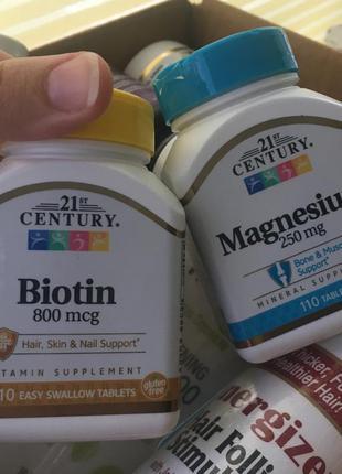 Биотин, магний biotin magnesium usa витамины