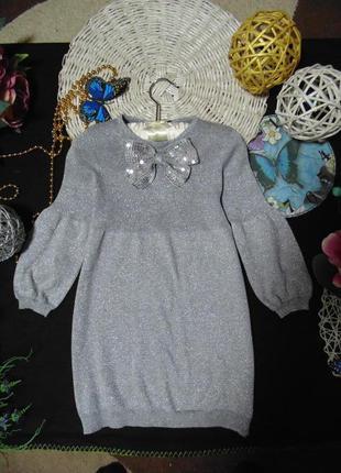 4-5лет.нарядное платье marks&spencer.