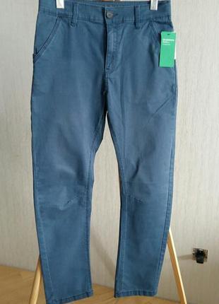 Синие можные брюки h&m на 13-14 лет.