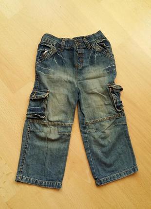 Синие светлые джинсы на 3 года.a g e.