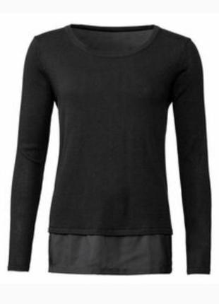 Свитер обманка блуза с запахом на спине esmara кофта большой р...