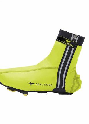 Велобахилы sealskinz lightweight halo с подсветкой (l)