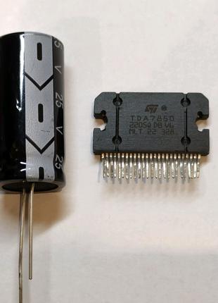 Усилитель TDA7850 с конденсатором