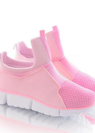 Спортивные кроссовки без шнуровки