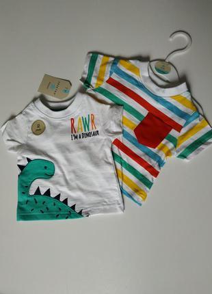 Детский набор комплект футболок 100 cotton crafted originals о...