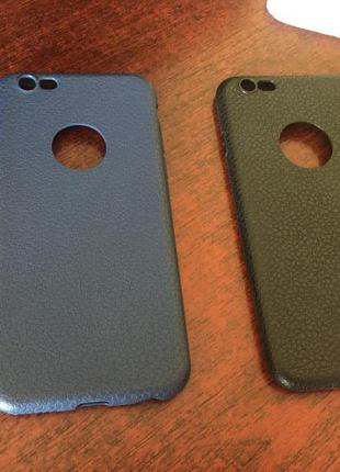 Чехол iPhone 6, 6s / ЧЁРНЫЙ И СИНИЙ ЧЕХОЛ