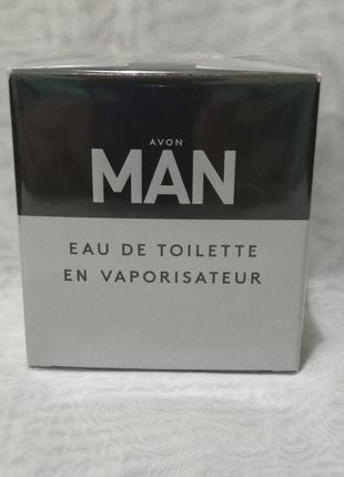 Avon man 75 ml мужская туалетная вода (эйвон мен