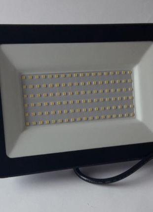 Светодиодный прожектор GLX 100W IP65 6500К ДО-51 черный