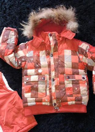 Зимняя куртка пуховик  холофайбер парка зима жилетка овчина ме...