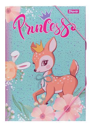 """Папка для праці 1Вересня картонна А4 """"Forest princesses"""""""