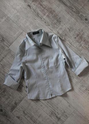 Блузка рубашка стрейчевая